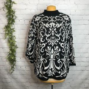 Vintage Stefano International Victorian Style Knit